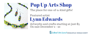 December Pop Up Arts Shop @ Cultural Arts Council