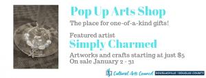January Pop Arts Shop @ Cultural Arts Council