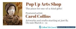 March Pop Up Arts Shop @ Cultural Arts Council