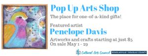 May Pop Up Arts Shop @ Cultural Arts Council