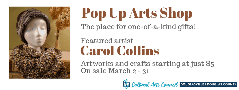 Pop Up Arts Shop: march
