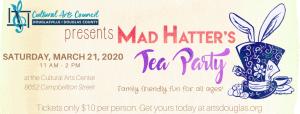 Mad Hatter's Tea Party @ Cultural Arts Council