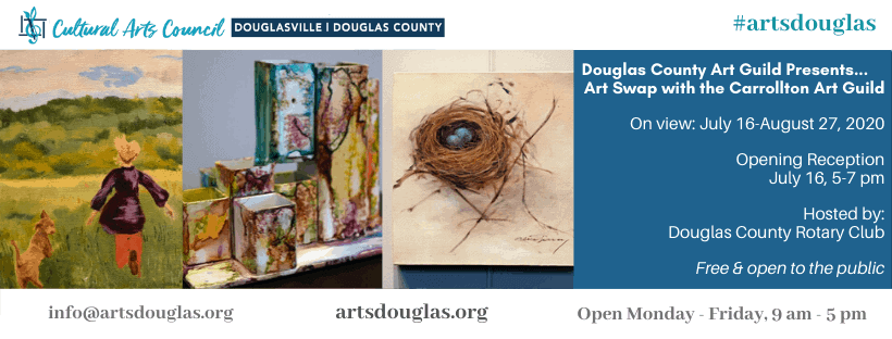"Douglas County Art Guild Presents...""Art Swap with the Carrollton Art Guild"" Exhibit Reception"