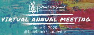 CAC Annual Meeting @ Cultural Arts Council Douglasville/Douglas County