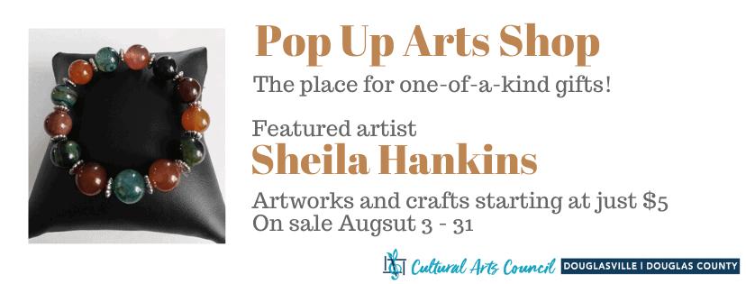 August Pop Up Arts Shop