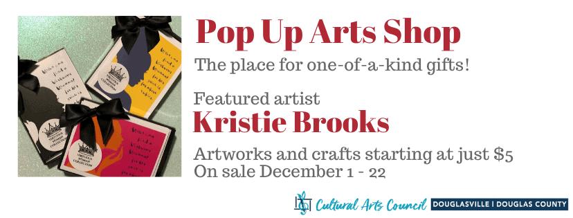 December Pop Up Arts Shop