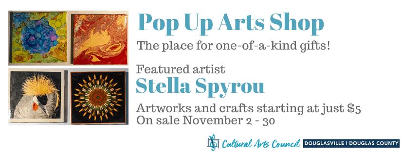 November Pop Up Arts Shop