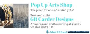 June Pop Up Arts Shop @ Cultural Arts Council