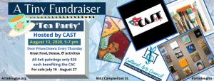 C.A.S.T. presents the 6x6 Tiny Fundraiser Tea Party