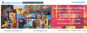 National Juried Art Show Exhibit 2020 @ Cultural Arts Center of Douglasville