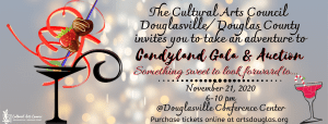 """Annual Gala and Silent Auction """"Candyland"""" @ Douglasville Conference Center"""