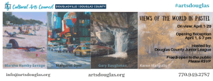Views of the World in Pastel Exhibit Reception
