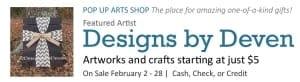Pop Up Arts Shop: Designs by Deven @ Cultural Arts Council of Douglasville/ Douglas County | Douglasville | Georgia | United States