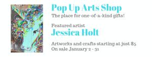 Pop Up Arts Shop: Jessica Holt @ Cultural Arts Council of Douglasville/ Douglas County
