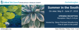 Summer in the South Exhibit Opening Reception @ Cultural Arts Council of Douglasville/ Douglas County