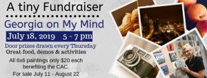 A Tiny Fundraiser @ Cultural Arts Council of Douglasville/ Douglas County
