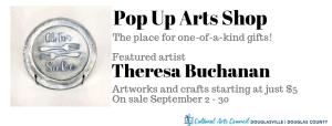 September Pop Up Arts Shop @ Cultural Arts Council