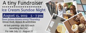 A Tiny Fundraiser @ Cultural Arts Council