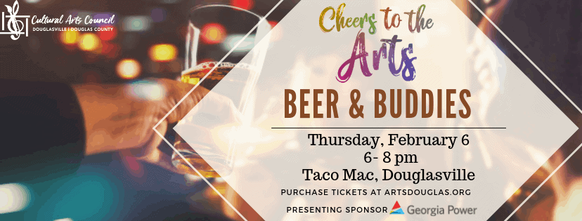 "Cheers to the Arts ""Beer and Buddies"""