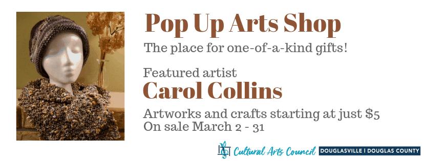 March Pop Up Arts Shop