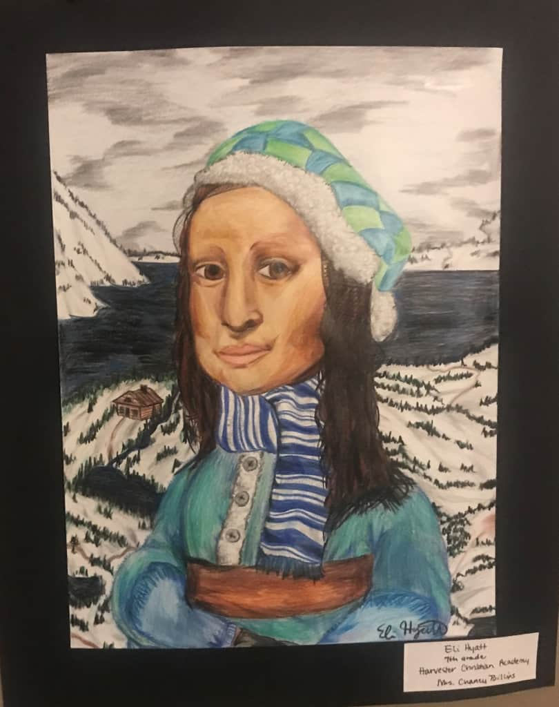 """Winter Wonderland""  Douglas County Students Winter Art Exhibit"