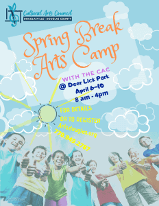 Spring Break Arts Camp @ Deer Lick Park