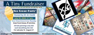 Ice Cream Party 6x6 Fundraiser mini reception