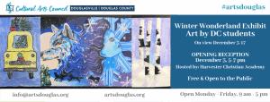 Winter Wonderland Exhibit from Douglas County Students