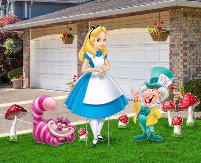 1st Annual Wonderland Yard Art Contest