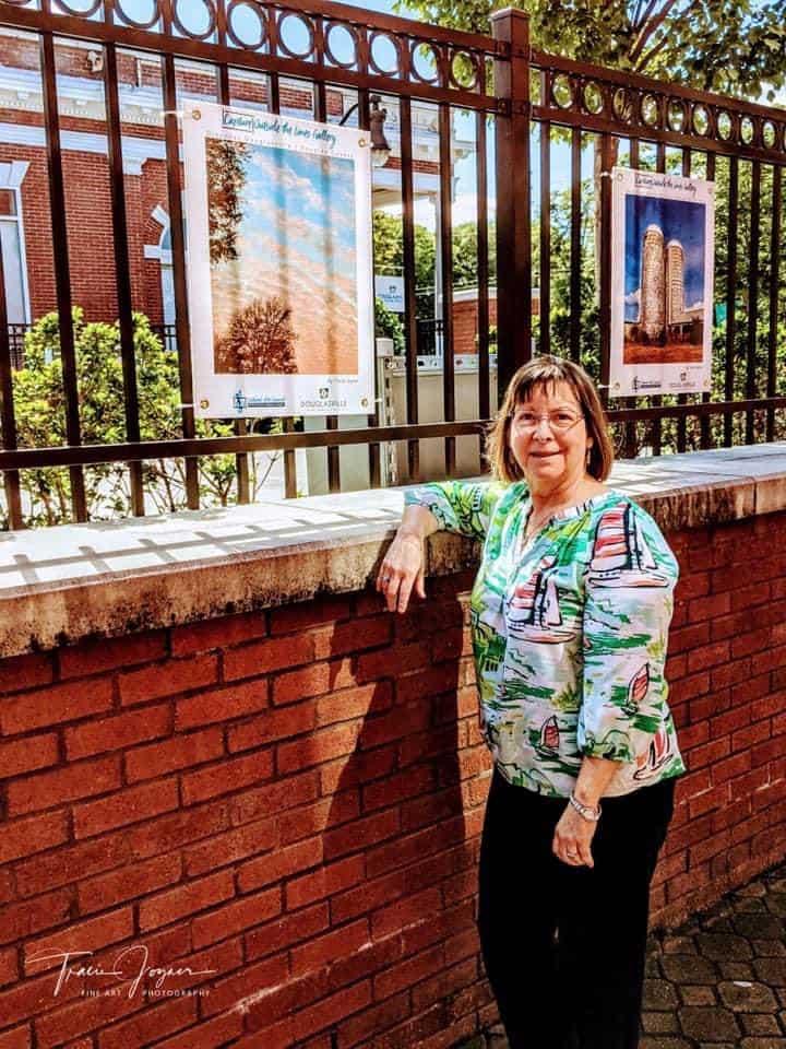 Capture Outside the Lines Public Art Debut