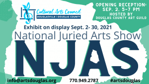 National Juried Arts Show Opening Reception