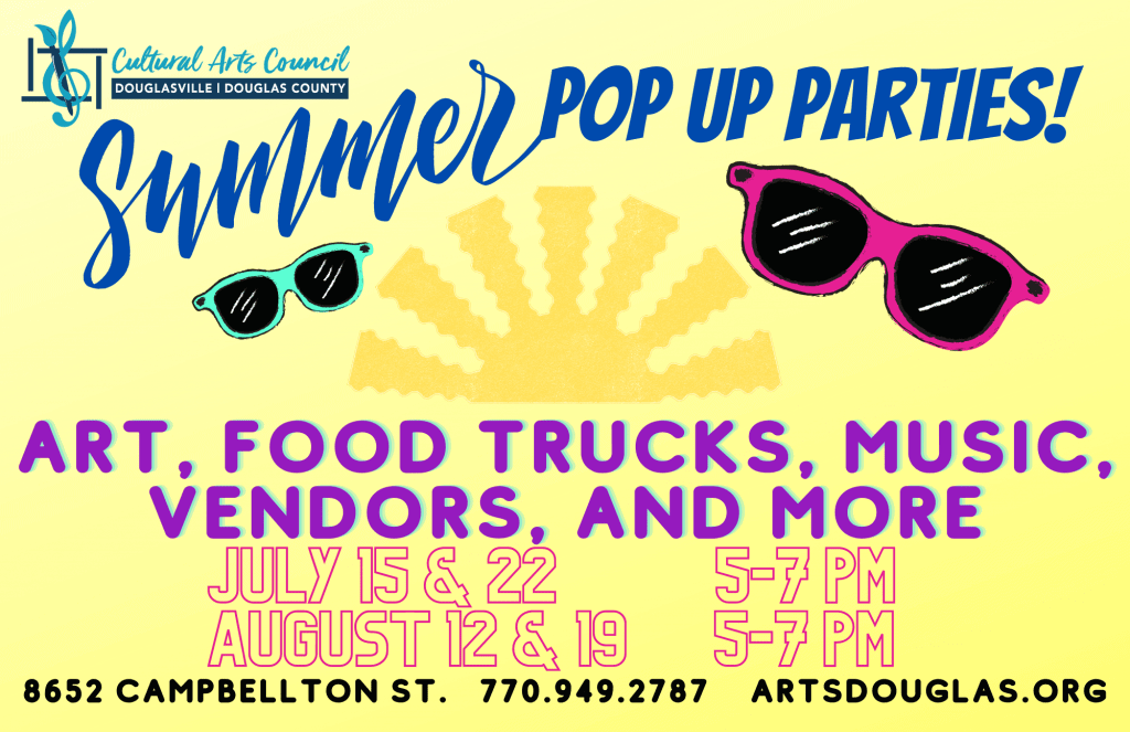 Summer Pop Up Party Finale Aug. 19