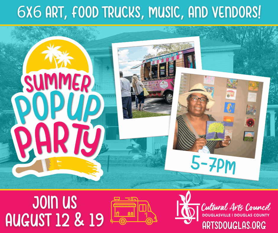 August Pop Ups! More chances to eat, shop, and party!